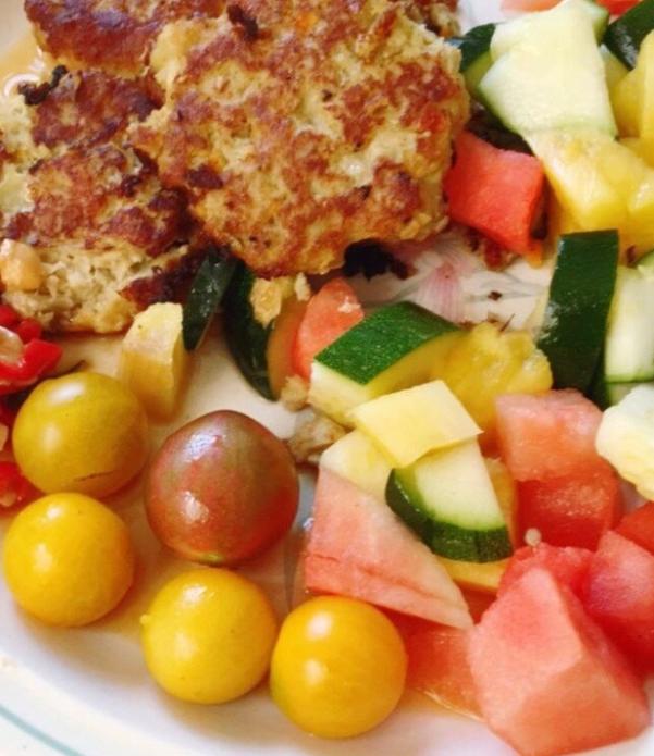 Courgette salad recipe